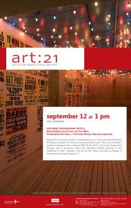 art21 poster11x17